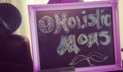 holistic moms on blackboard for back to school