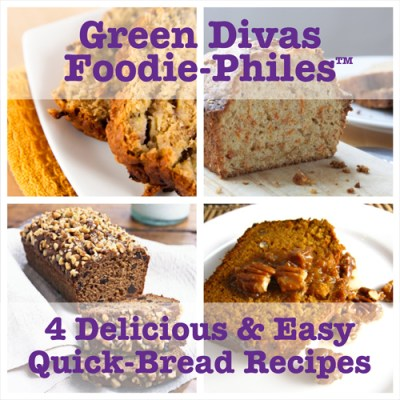 Green Divas Foodie-Philes bread collage