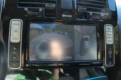Nissan Leaf backup cameras