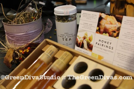 bee raw honey @ Green Diva Studio