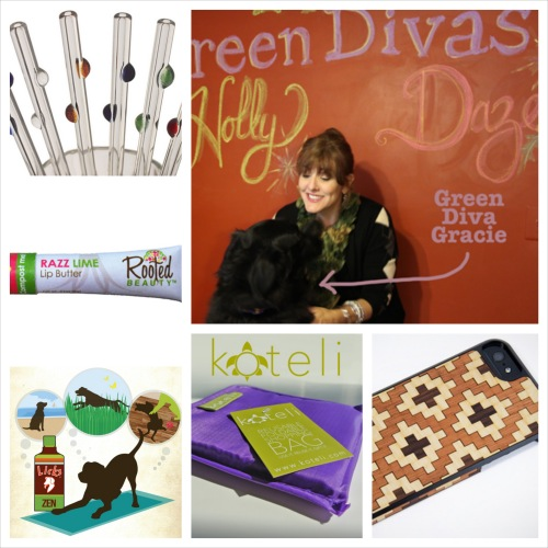 Green Divas Gift Guide collage