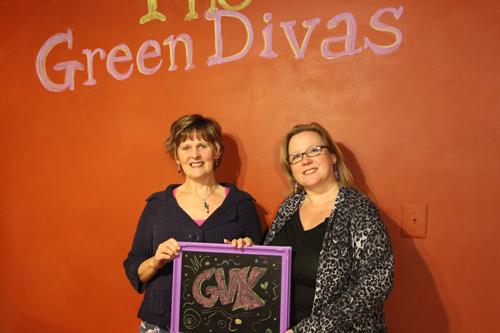 Kristin & Green Diva Meg @ Green Diva Studio