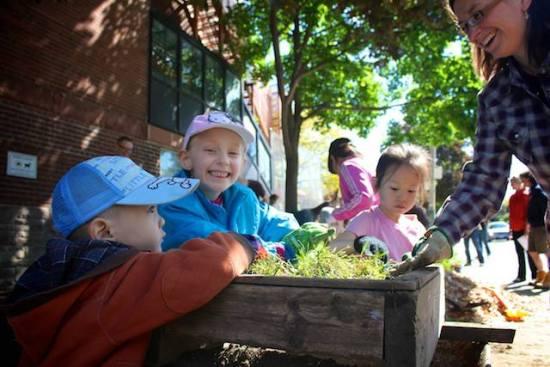 urban children planters