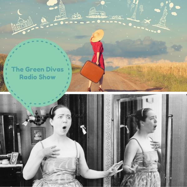 green divas radio show collage