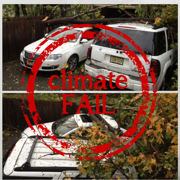 climate change fail image on the green diva