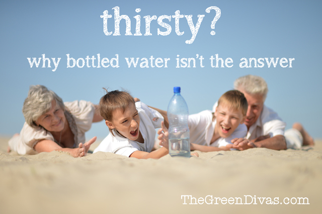 Thirsty image on the green divas website