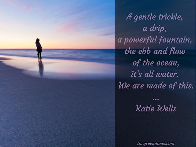 water quote, ocean