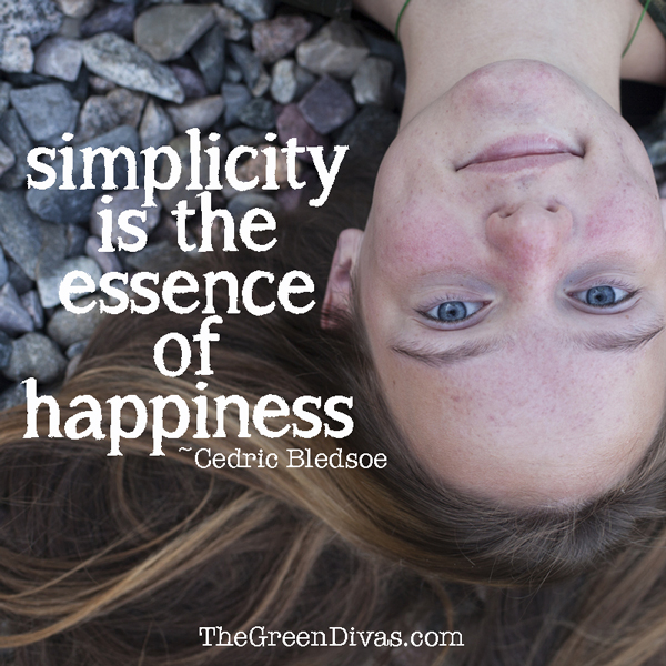 simplicity quote on the green divas