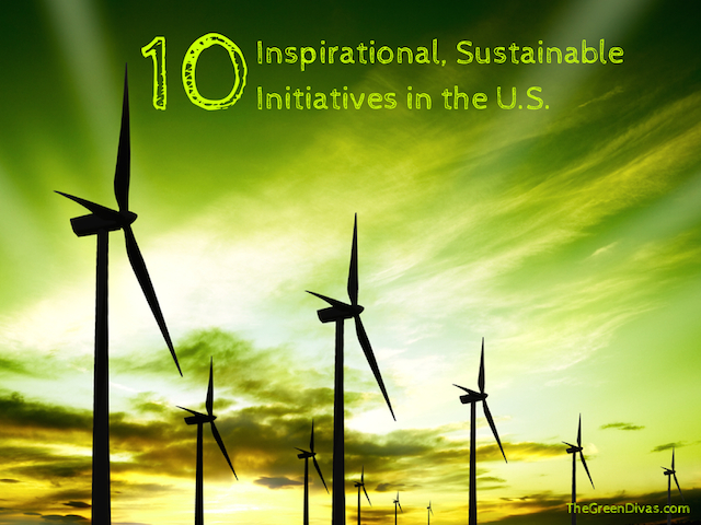 #sustainable initiatives in the US copy