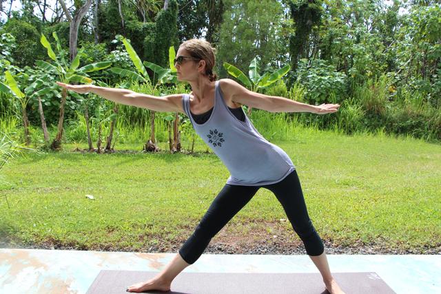 Green Diva Lynn - Yoga Hawaii