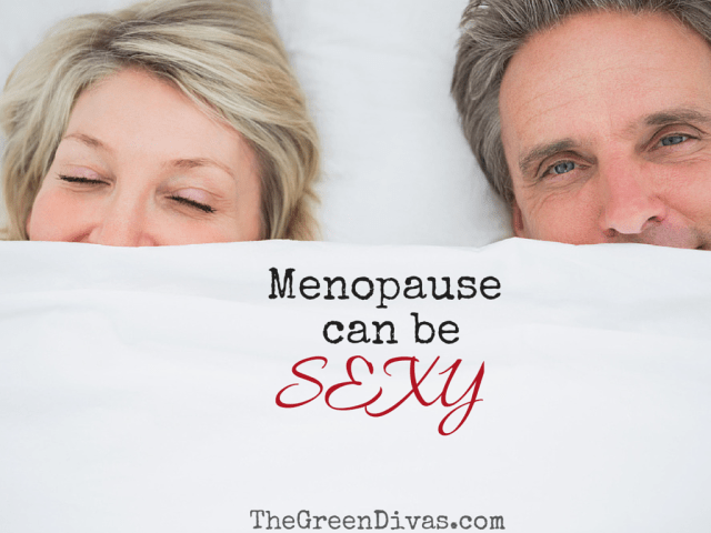 Menopause can be sexy - couple in bed