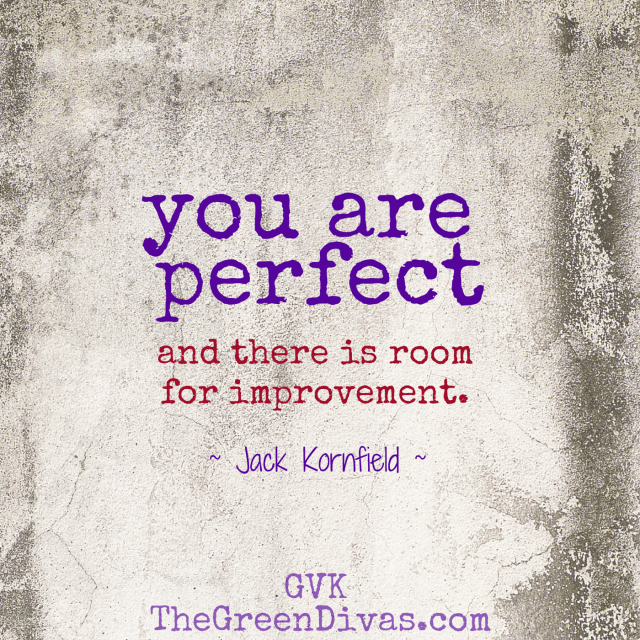 you are perfect  quote by jack kornfield