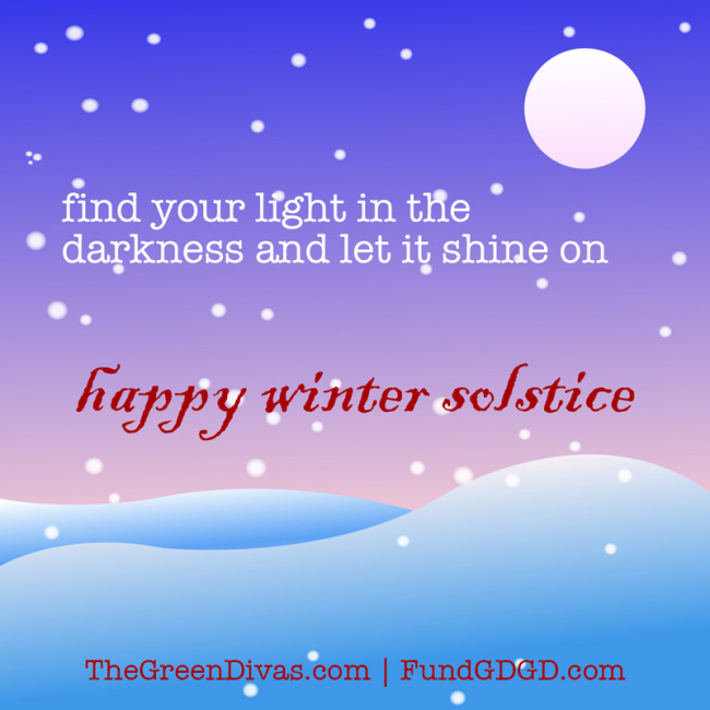 winter solstice quote and image