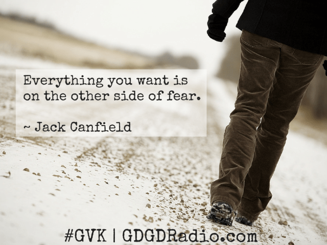 jack canfield quote about fear