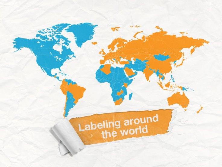 gmo labeling around the world