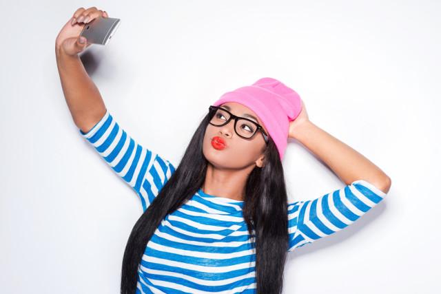 diy lipstick selfie