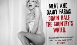 PAMela Anderson PETA shower ad