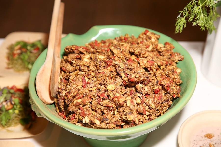 brain boosting pumpkin granola
