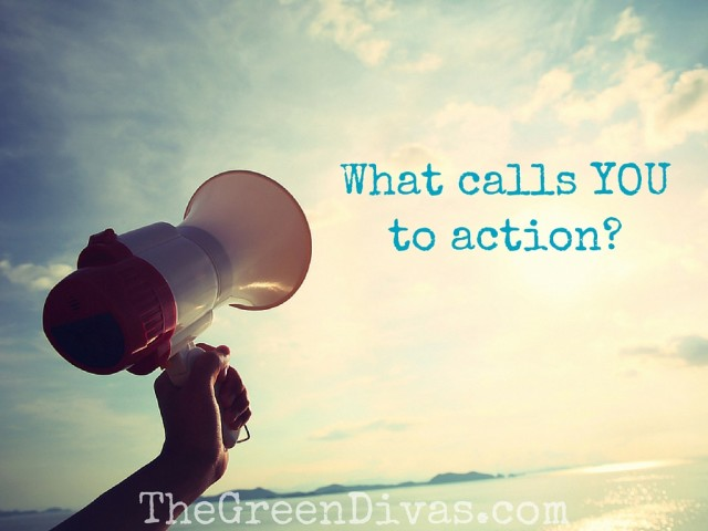 Activism megaphone: What calls YOU to action-