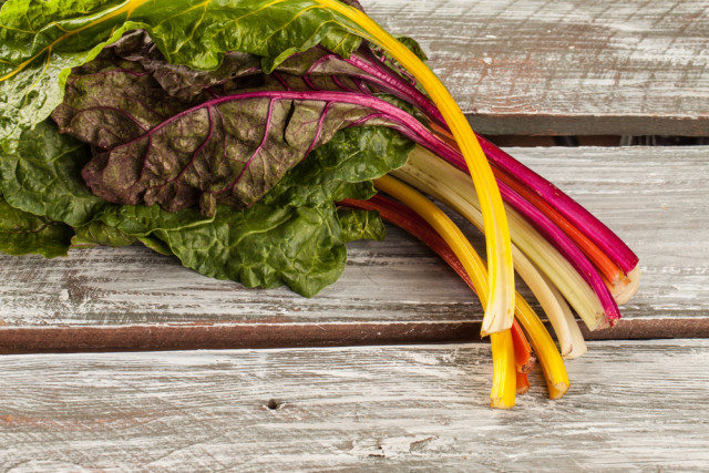 swiss chard stems