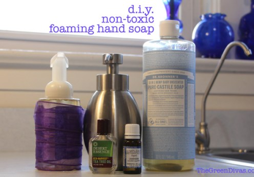 1 GD minute video - diy non-toxic foaming hand soap
