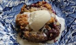 green diva meg's berry crumble recipe