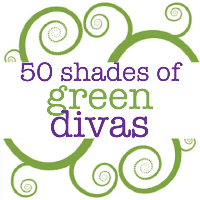 New 50 Shades of Green Divas logo