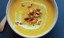 Maria Rodale's spiced pumpkin soup from Scratch, her new cookbook