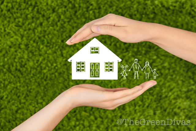 protecting hands around home - for non-toxic home post on the green divas