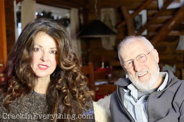 James Cromwell and Varushka Franceschi on A Crack in Everything