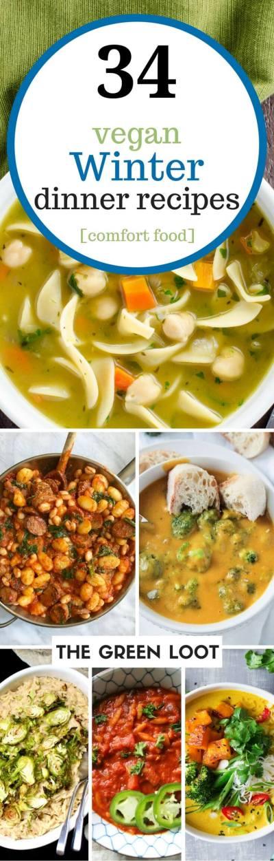 34 Cozy Vegan Winter Recipes for Dinner (Healthy Comfort Foods)   The Green Loot