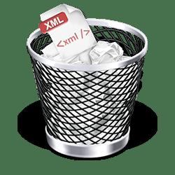 No XML
