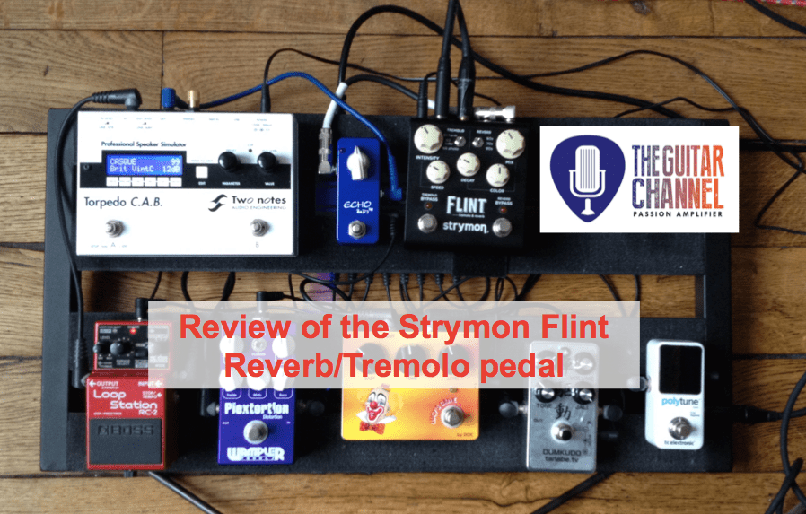 @Strymon Flint reverb/tremolo pedal - Pedal Review
