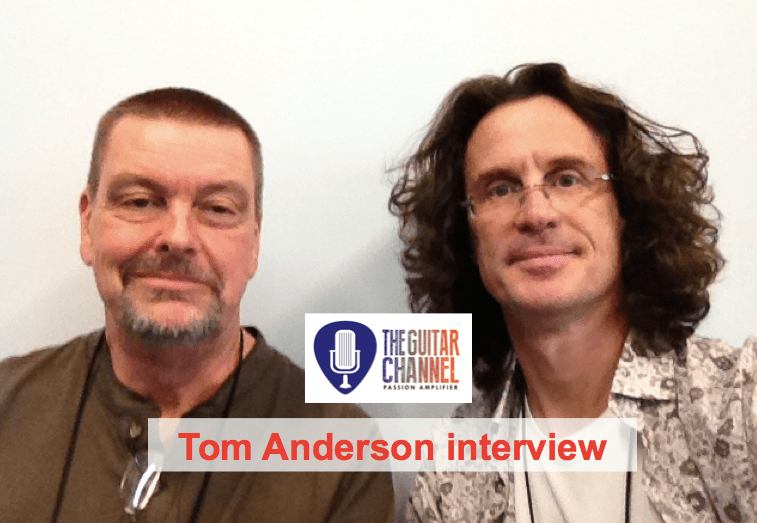 Tom Anderson interview during the 2015 @NAMMshow