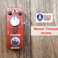 @MooerAudio Trescab, a pocket cab sim - Pedal Review