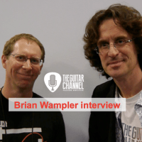 Brian Wampler interview, founder of @WamplerPedals at the 2016 @NAMMshow