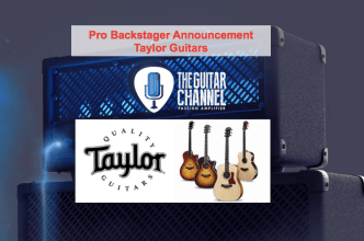 Pro Backstager announcement - Taylor Guitars