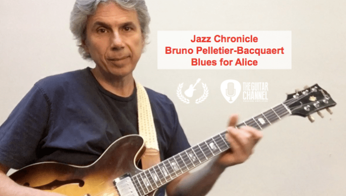 """""""Blues for Alice"""" by Bruno Pelletier-Bacquaert"""