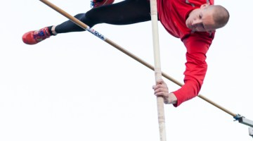 Pole Vaulter - Track & Field Competition.