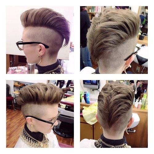 Top 40 Awesome Women\'s Undercut Hairstyle for Short Hair