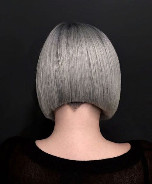 Long Bob With Undercut