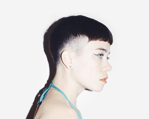 Shaved Sides Haircut Women's