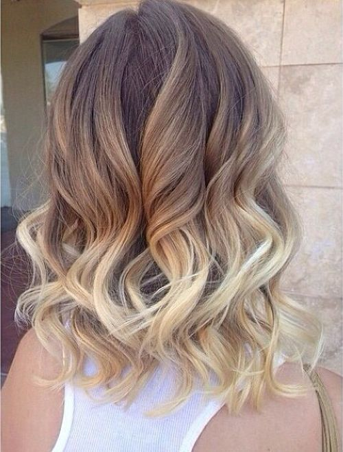 Best 30 ombre hairstyle ideas for medium hair blond ombre urmus Gallery