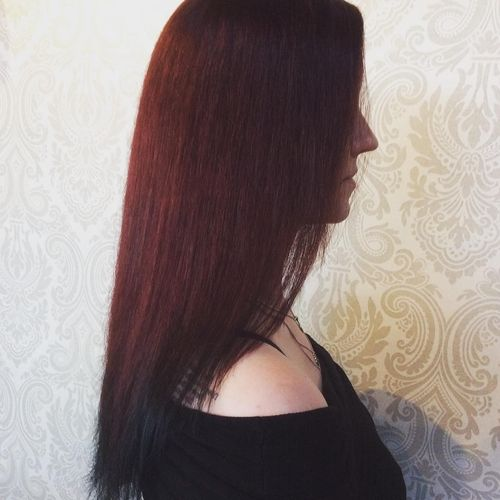 Black streight ombre