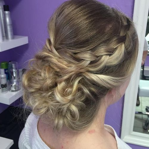 Professional Updos for Medium Length Hair