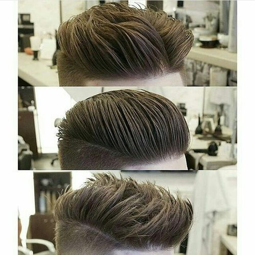 Grand Medium Length Pompadour