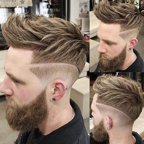 Glorious Faux Hawk with Texture