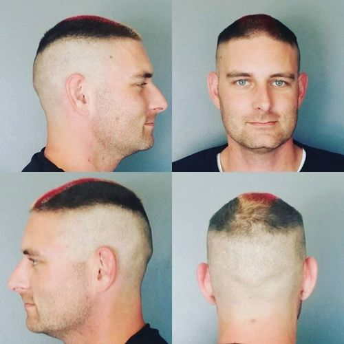 25 high and tight haircuts the hair style daily dyed high and tight hairstyle urmus Images