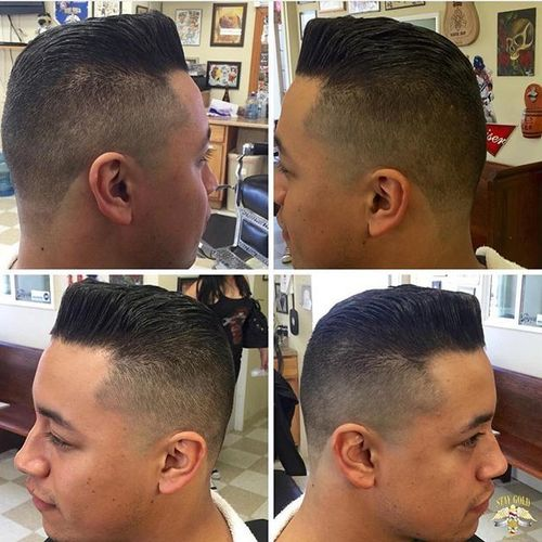 High and Tight Cut with Pomp
