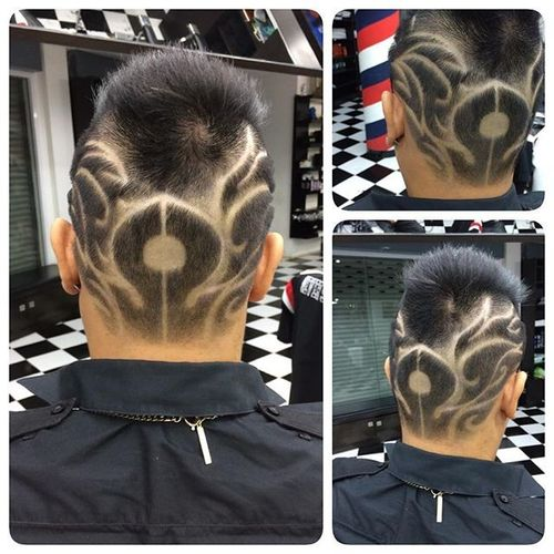 Artistic Spiky Hairstyle for Asian Men